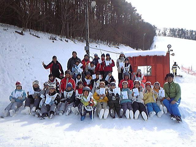 玉山区スキー教室終了〜!